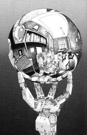 Bola de Cristal por M.C. Escher