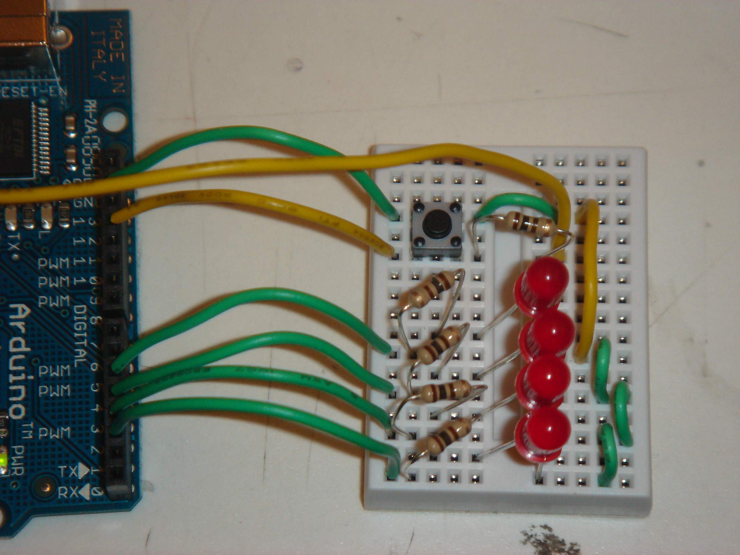 Binary Counter 157a Game Design Circuit
