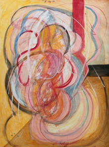 Homage to Francis Bacon by Nasser Azam