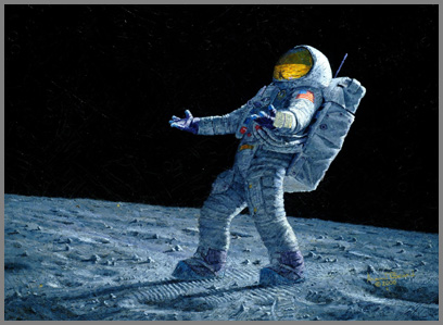 Is anyone out there-by Alan Bean